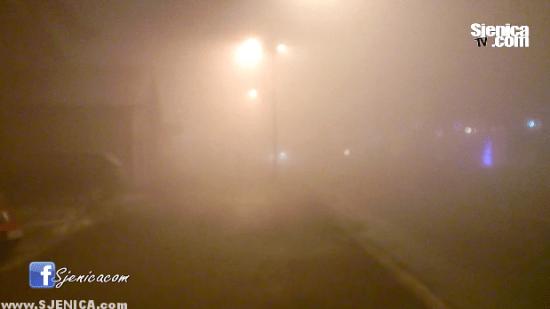 Magla u Sjenici / Sjenica Decembar 2015