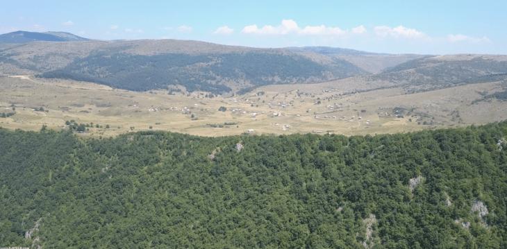 Selo Crvsko - Avgust 2017 - opstina Sjenica