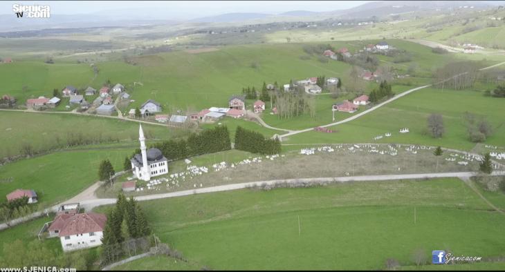 Selo Razdaginja - Video snimak iz vazduha - Maj 2017 - Sjenica