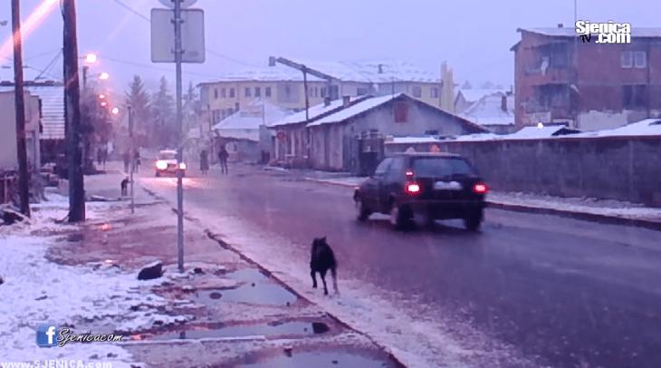 Snijeg u Sjenici 24.11.2015.