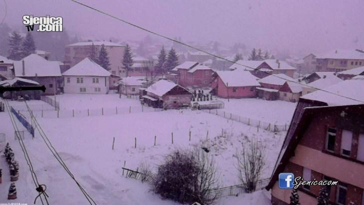 Snijeg u Sjenici - januar 2016. / Sjenica slike