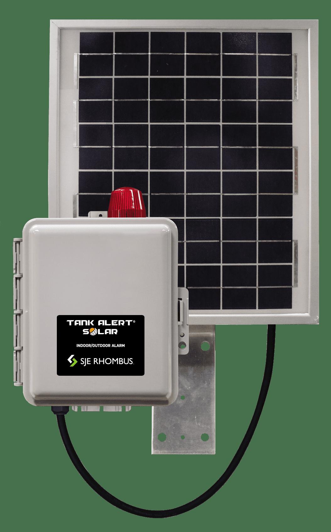 hight resolution of tank alert solar