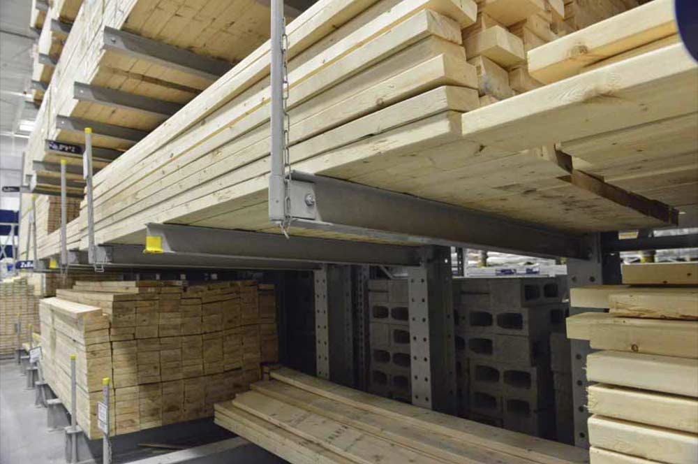 Storing Plywood Vertically