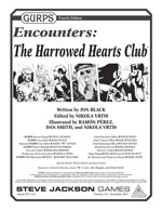 GURPS Encounters: The Harrowed Hearts Club – Cover