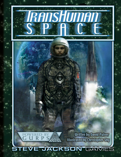 TransHuman Space Copertina