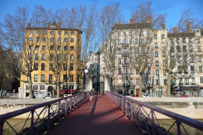 Passerelle St. Vincent on a clear blue sky day : )