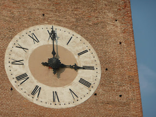 Italian clock tower