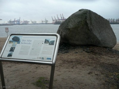 "I'd read about ""Der Alte Swede."" He's the oldest inhabitant of Hamburg; they found him in 1999 when dredging the harbor."