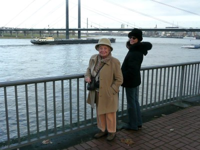 Big smiles on the Rhine.