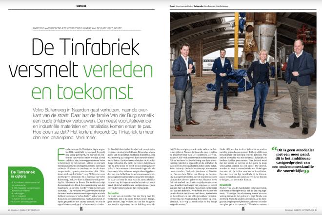 BOVAGkrant Tinfabriek reportage Sjoerd van der Linden