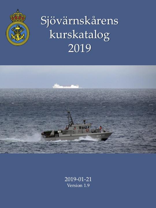 Sjövärnskårens kurskatalog 2019
