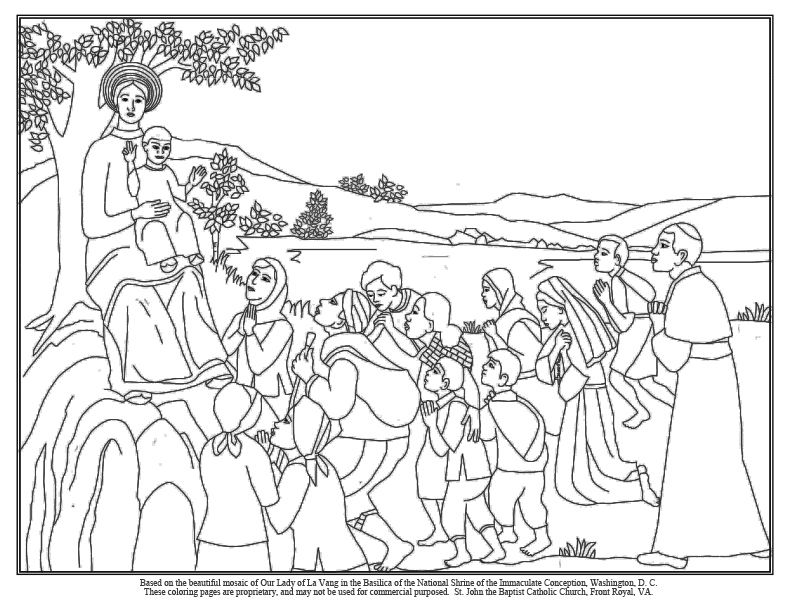 The Sacrament Helps Me Think About Jesus Coloring Page