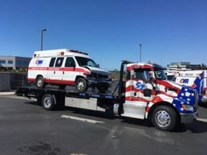 gallery-tow truck with ambulance