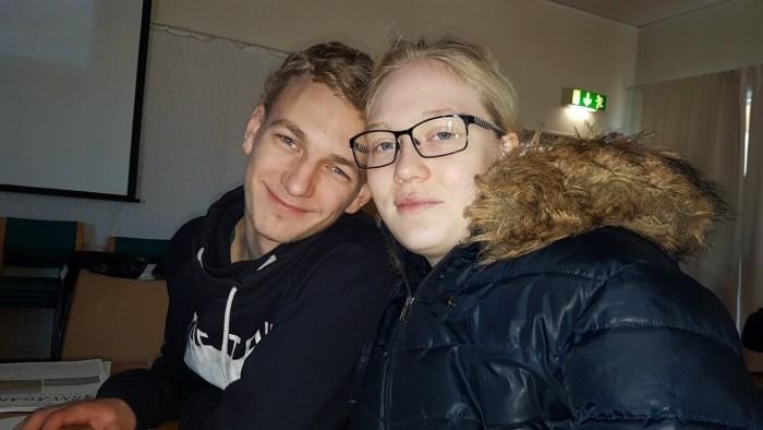 Stéphanie och Jonatan