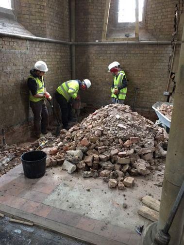 7 Nov - floor excavation-w1200