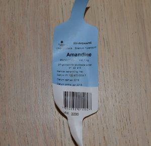 Etikett certifierat utsäde