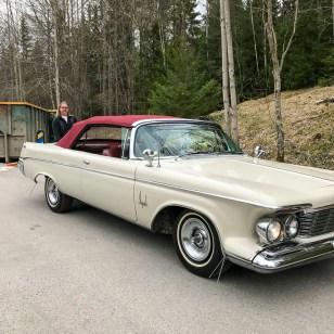 Göran och hans bil. Gurksalladen var hans.