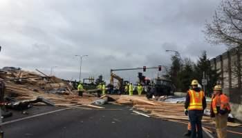 5 Injured in Crash on I-5 Near Marysville - Skagit Breaking
