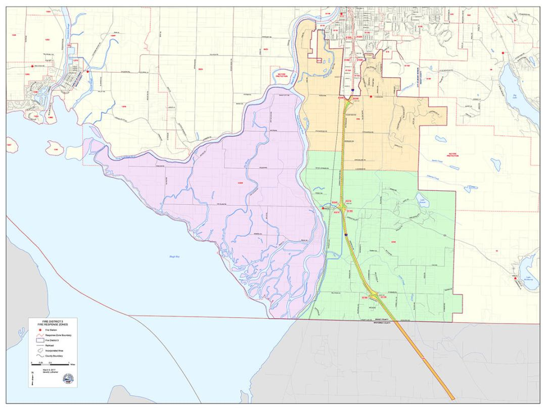 Skagit Fire District 3 Coverage Map