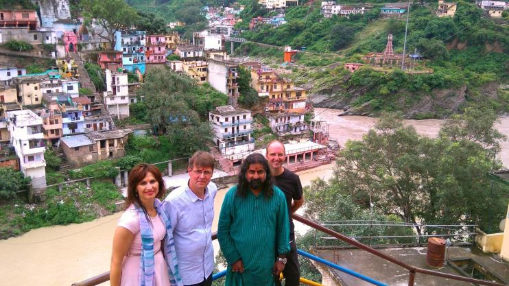 Devprayag – the confluence of these two rivers forms the Ganges