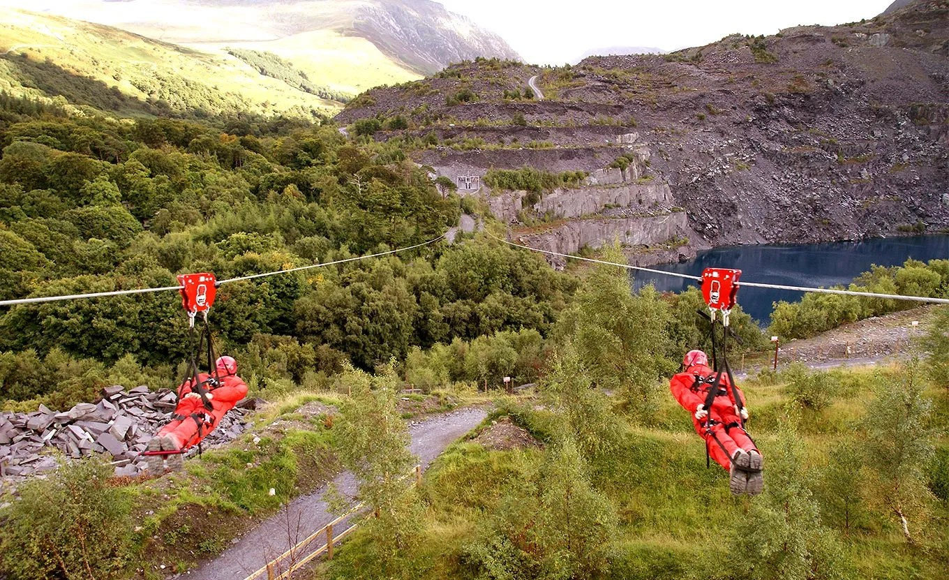 4 man zip wire wales 2002 dodge durango infinity sound system wiring diagram skanda vale hospice view larger image two people on the world s fastest