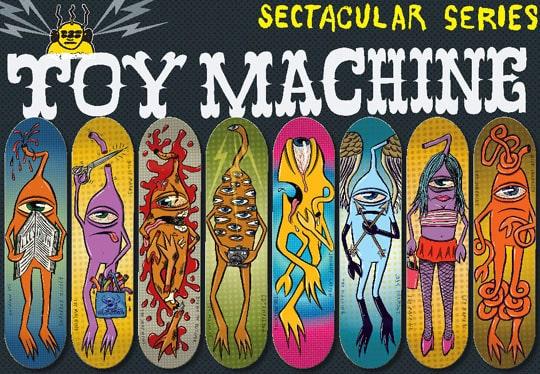Toy Machine Skateboard