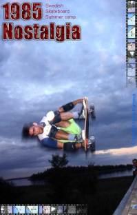 skateboard memories, swedish summer camp