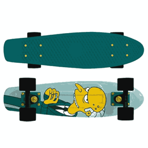 Penny Skateboard - The Simpsons Limited Edition - best skateboard brands for beginners