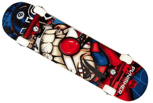 Punisher Jester Complete Skateboard - best skateboard brands for beginners