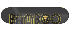 Bamboo Skateboards Graphic Decks - blank skateboard decks