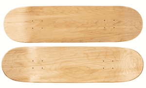 Moose Blank 8.25″ Skateboard Deck (Natural) - blank skateboard decks