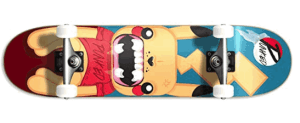 Yocaher Pika Punked Complete Skateboards - girls complete skateboards