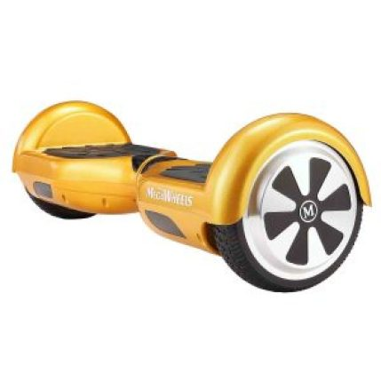 Safety and security guaranteed with the MegaWheels hoverboard. The hoverboard is equipped with two powerful 250 watt motor and can go speeds up to 7.5 mph. Also equipped with a 25V/4A battery and 6.5 inches tires for easy control when riding._Best Hoverboards