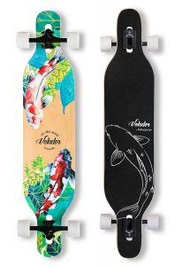 VOLADOR 42inch freeride longboard complete cruiser ( drop through deck - camber concave )
