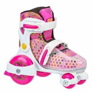 Roller Derby Girl's Roll Adjustable Roller Skate_best roller skates for kids