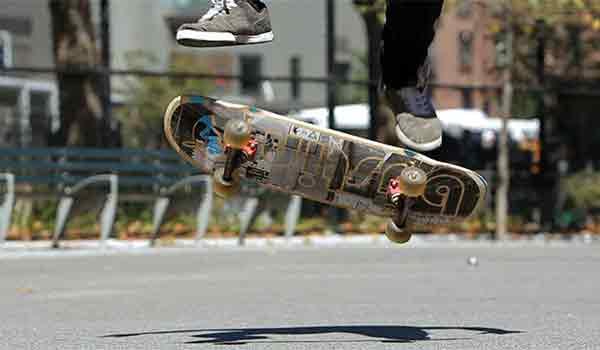 heelflip skateboard trick