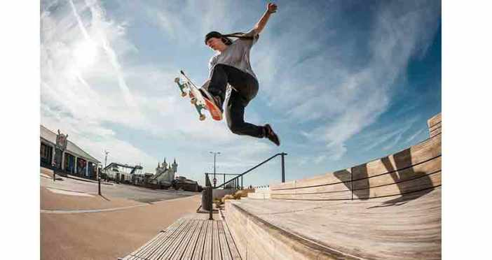 skateboarder physical endurance