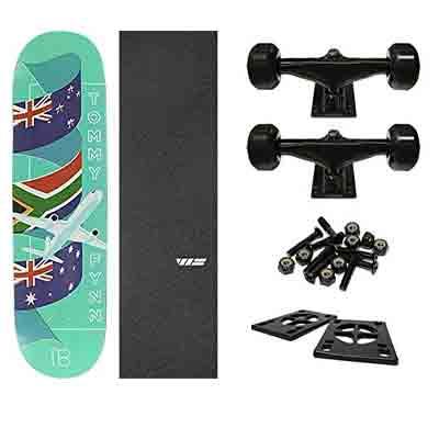 Logo Tommy Fynn Traveler Skateboard Deck