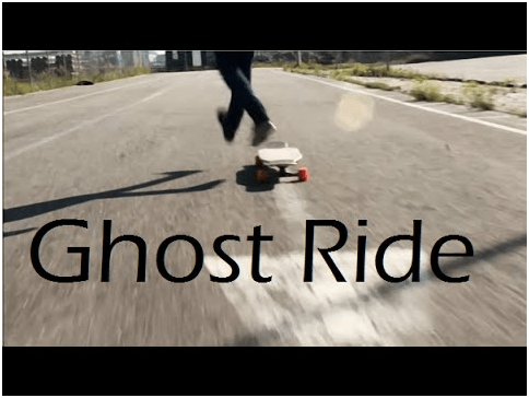Ghost ride is one of the most famous steps of the longboard dancing tricks.