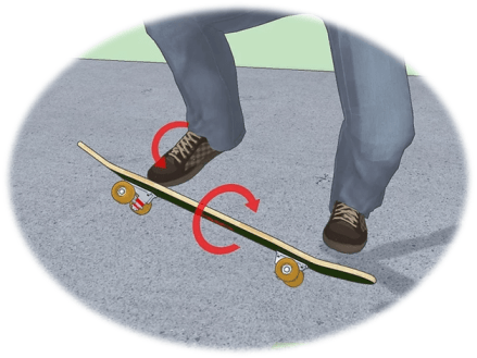 How to Old School Kickflip on a Skateboard—the easiest way