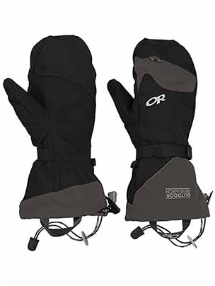 Best snowboard mittens article help you to choose Outdoor Research Meteor Mitts for it's flexibility.