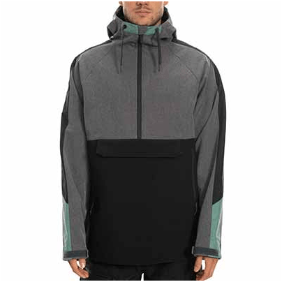 686 Men's Waterproof Anorak Insulated Jacket has ADVANCED OUTDOOR 686 GEAR benefits.