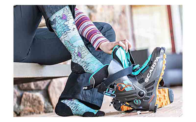 How to choose the best snowboard socks