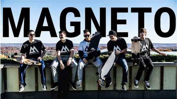 Magneto longboard is a good standard longboard with classic design.