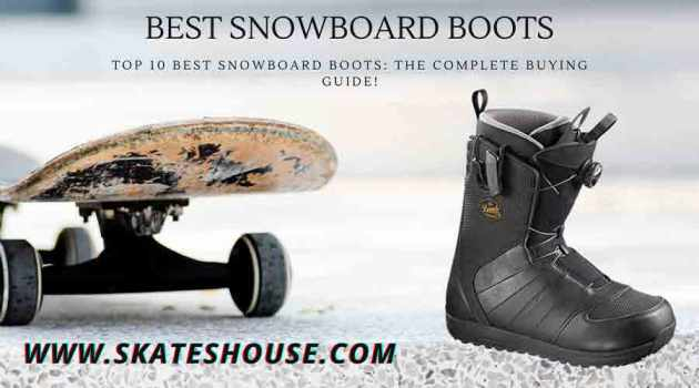 Best Snowboard boots can make you comfortable when you ride it on Heavy snowfall.