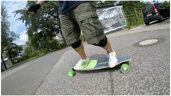 The most important part of a longboard is deck. Magneto longboard 's deck is awesome.