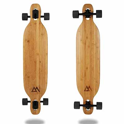 Magneto Longboards Bamboo Longboards for Cruising, Carving, Free-Style, Downhill, and Dancing