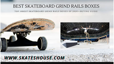 Top 10 best skateboard grind rails boxes of 2020—Buying Guide!