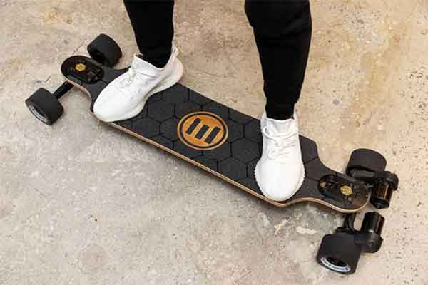 Skateboard weight is and important part to know.