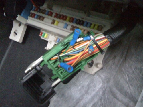 small resolution of volvo v50 fuse box problems wiring librarycem splice required for the original kbowe